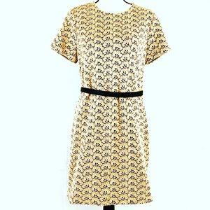 Diane Von Furstenberg Lace Mini Dress Size 12